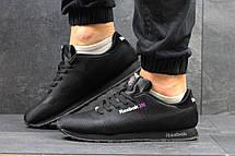 Мужские кроссовки Reebok,плотный текстиль,черные, фото 2