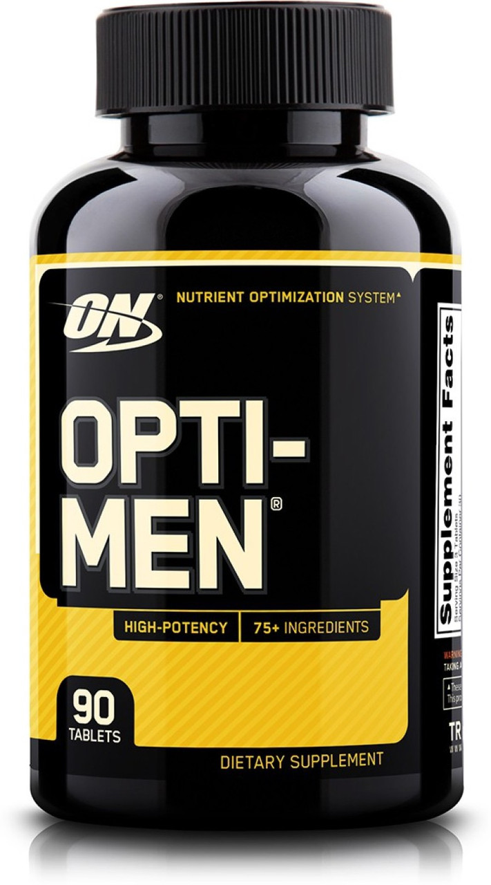 Витамины Optimum Nutrition Opti-Men 90 tabs