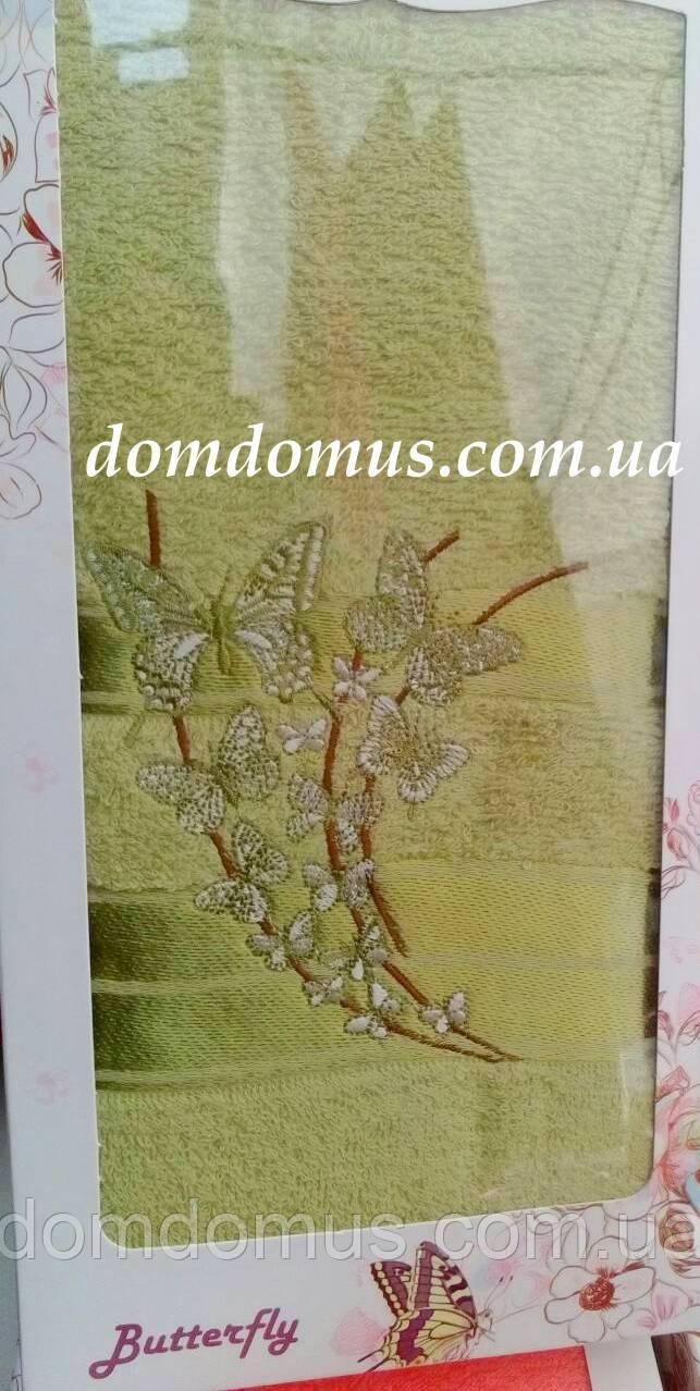 Махровое полотенце в подарочной упаковке 90*140 см TWO Dolphins, Турция 0161