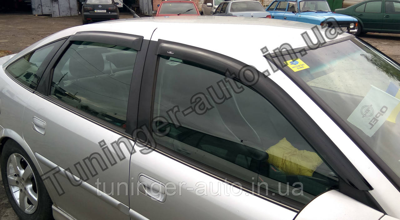 Ветровики, дефлекторы окон Opel Vectra B 1995-2002