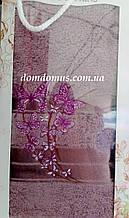Махровое полотенце в подарочной упаковке 90*140 см TWO Dolphins, Турция 0163