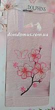 Махровое полотенце в подарочной упаковке 90*140 см TWO Dolphins, Турция 0164