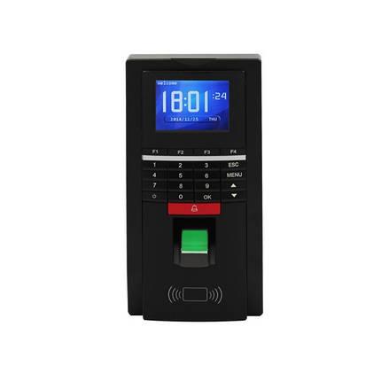Профессионал realand m30 полная функция двухдверные 2.4 дюйма tft окрашивает дверную систему управления доступом отпечатка пальца 2000 года - 1TopShop, фото 2