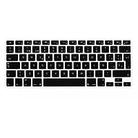 Прозрачная красочная клавиатура силикона защитный фильм для европейского испанского языка macbook13.3 15.4 вариантов