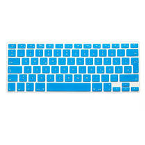 Прозрачная красочная клавиатура силикона защитный фильм для европейского немца macbook13.3 15.4 вариантов 1TopShop, фото 3