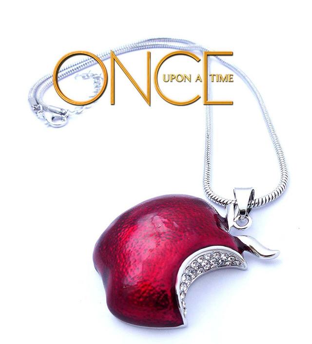 Кулон яблоко Once upon a time