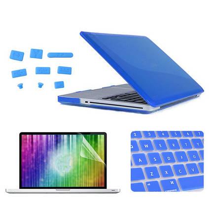 Кристалл enkay защитный клавишный фильм экрана покрытия раковины анти-штепсель пыли установлен для MacBook Pro 15.4 дюймов 1TopShop, фото 2