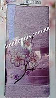 Махровое полотенце в подарочной упаковке 90*140 см TWO Dolphins, Турция 0167
