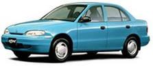 Защита двигателя Hyundai Accent (Pony) (1995-2000)