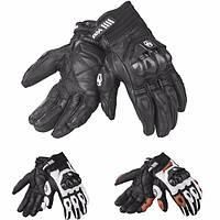Мужчины кожаные перчатки Мотокросс езда полный палец от ветра для DUHAN t1