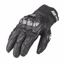 Мужчины кожаные перчатки Мотокросс езда полный палец от ветра для DUHAN t1 1TopShop, фото 3
