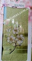 Махровое полотенце в подарочной упаковке 90*140 см TWO Dolphins, Турция 0168