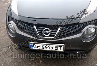 Мухобойка, Дефлектор капота Nissan Juke 2010- (EGR)
