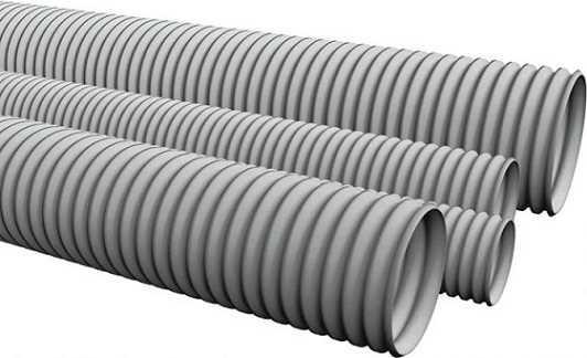 Гофрированные трубы из полиэтилена низкого давления (ПНД)