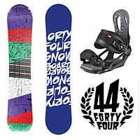 Сноуборд Forty-Four 157 см + Крепление Head NX One (snowboard 44)