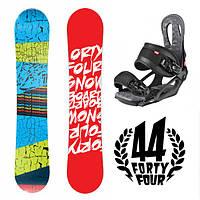 Сноуборд Forty-Four 145 см + Крепление Head NX One (snowboard 44)