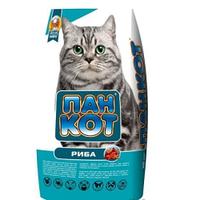 Корм для котов Пан Кот рыба (сухой) на развес 1 кг