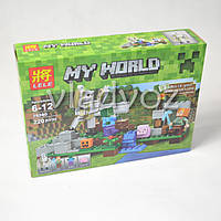 Игровой конструктор майнкрафт аналог My world Lele