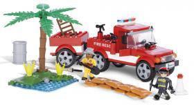 Детский конструктор ' Пожарно-спасательная команда '  COBI-1463