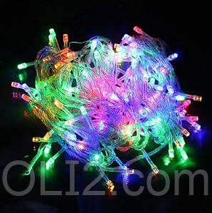 Светодиодная гирлянда новогодняя 200 Led Light Color