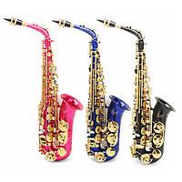 LADE Alto Eb Красочный саксофон с Чехол и аксессуарами
