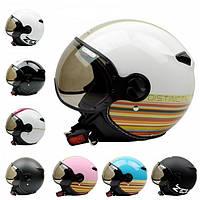 Скутер мотоцикла 3/4 стоит перед годом изготовления вина шлема capacete для harley шлема принца Зевс 210c