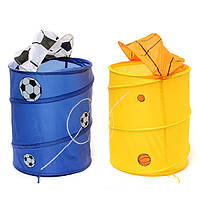 Складная ванна мешка хранения одежды корзины для белья препятствует мусорному ведру всякой всячины