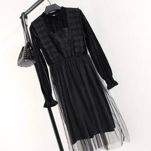Платье с фатином на юбке, фото 2