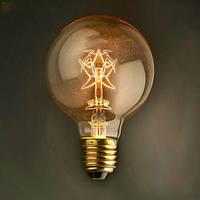 E27 40w G80 старинные звезды стиль лампы накаливания Эдисона глобус лампочки для декоративного освещения