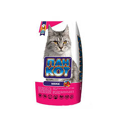 Корм для котов Пан Кот микс (сухой) на развес 1 кг Акция