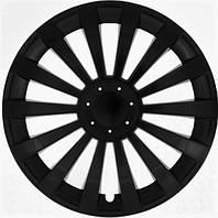 Колпаки на колеса R16 черные черные колпак K0298