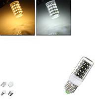 E27 / E14 / E12 / B22 / G9 / GU10 LED лампы 4W SMD 4014 56 400lm чисто белый / теплый белый свет лампы кукурузы AC 220V