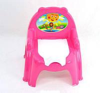 Горшок детский кресло Красный/Розовый/Оранжевый Технок 3244