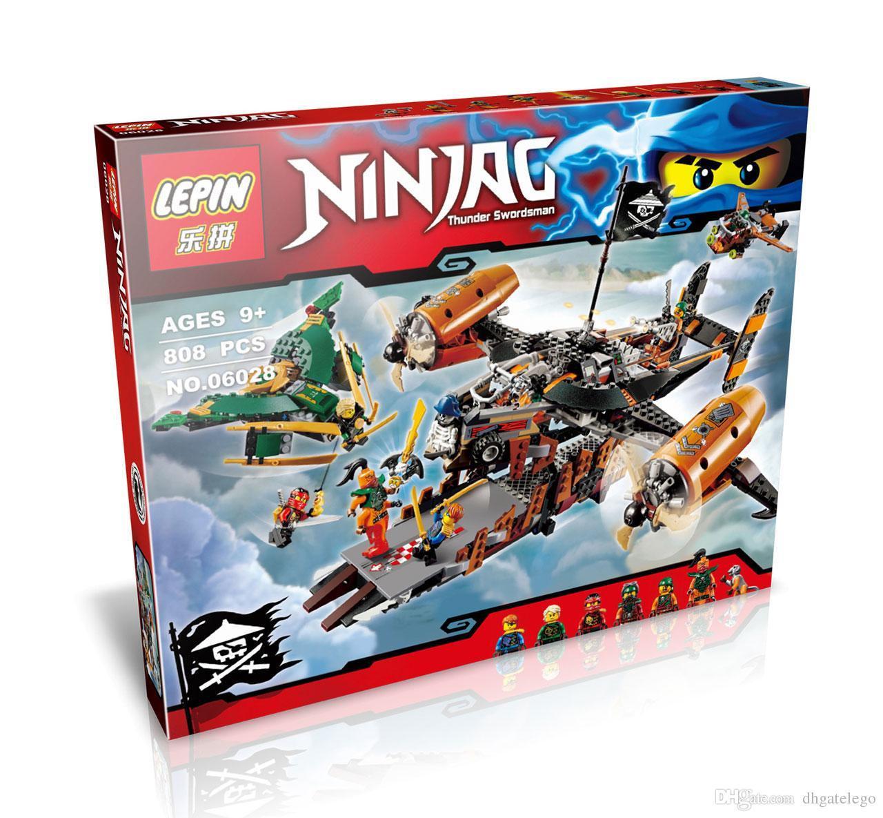 """Конструктор LEPIN 06028 Ninja (аналог Lego Ninjago 70605) """"Цитадель Нещастя"""" 808 деталей"""