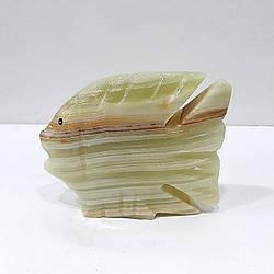 Рыбка из натурального оникса 6,5*7 см