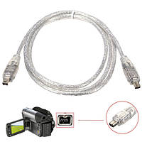1.2m/4ft ieeea 1394 4pin мужчина к 4pin мужской firewire dv кабельный шнур конвертера