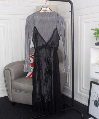 Платье нарядное прозрачное сверху