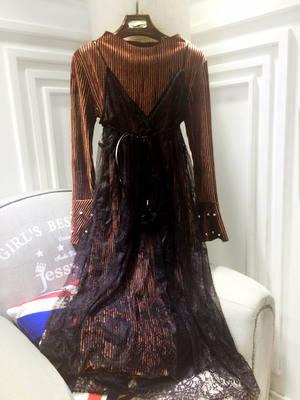 Платье нарядное прозрачное сверху, фото 2