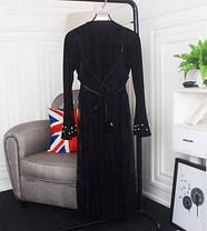Платье нарядное прозрачное сверху, фото 3