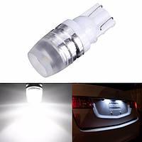 Большая мощность t10 1w LED автомобильный ксенон лампочек клина белые 50 лм 40ma dc12v