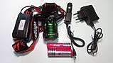 Фонарь аккумуляторный налобный WD176 XM-L T6 zoom (2х18650, 3 режима), фото 3