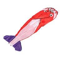 Наружное спортивное развлечение 3-й огромный бумажный змей дельфина гиганта параплана с хвостом на 2.6 м