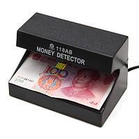 Объявление-118ab 110-220v фальшивые деньги детектор денежных проверки испытательной машины с УФ лампой синего для магазина кассира ЕС Plug