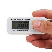 KT-401 Тестер аэроионов отрицательной анион кислорода детектор концентрация aeroanion метр