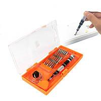 JAKEMY JM-8142 30in1 Алюминиевый сплав Отвертка Набор инструментов для ремонта сотового телефона