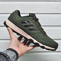 Мужские кроссовки Adidas Terrex в наличии цвет олива