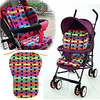 Детская коляска детская коляска детская коляска подушки колодки толщиной хлопок багги коврик покрытие
