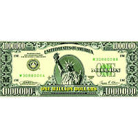 Сувенирные деньги миллион долларов (пачка 80 шт.)