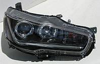Mitsubishi Lancer X оптика передняя ксенон LED