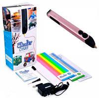 3D-ручка 3Doodler Create для проф. исп. Розовый Металлик (50 стержней), 3Doodler